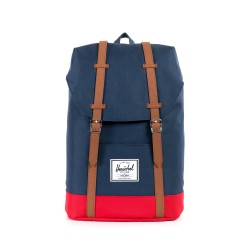 HERCHEL RETREAT NAVY/RED