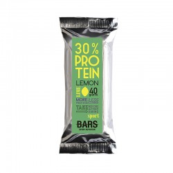 PUSH BARS BARRITA PROTEINA 30% LIMA/LIMON 40GR.