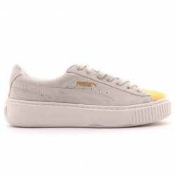 ZAPATILLAS DE MODA PUMA SUEDE PLATAFORM GOLD-STAR