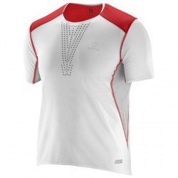 SALOMON CAMISETA S-LAB SENSE TEE WHITE