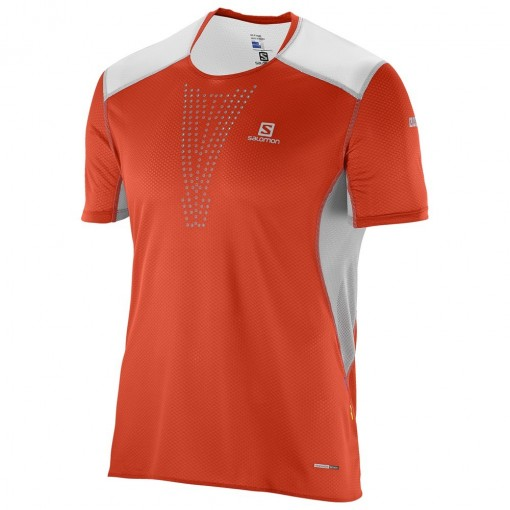 SALOMON CAMISETA S-LAB SENSE TEE RED
