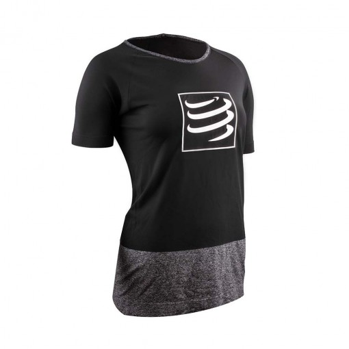 COMPRESSPORT TRAINING SHIRT W NEGRA