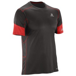 SALOMON CAMISETA AGILE SS TEE M BLACK