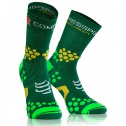 CALCETIN COMPRESSPORT TRAIL 2.1 VERDE