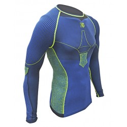 CAMISETA HG M/L FULL CARBON HG-8535 B/ROYAL