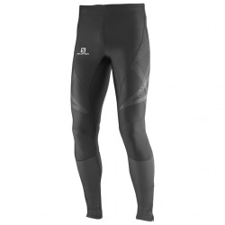 SALOMON MALLA INTENSITY LONG TIGHT M BLACK