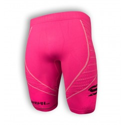 SURAL MALLA TIGHT SHORT W COMPRESSION PINK