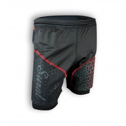 SURAL SHORT RUNNING + MALLA TRONADOR III BLACK RED RT-32101800