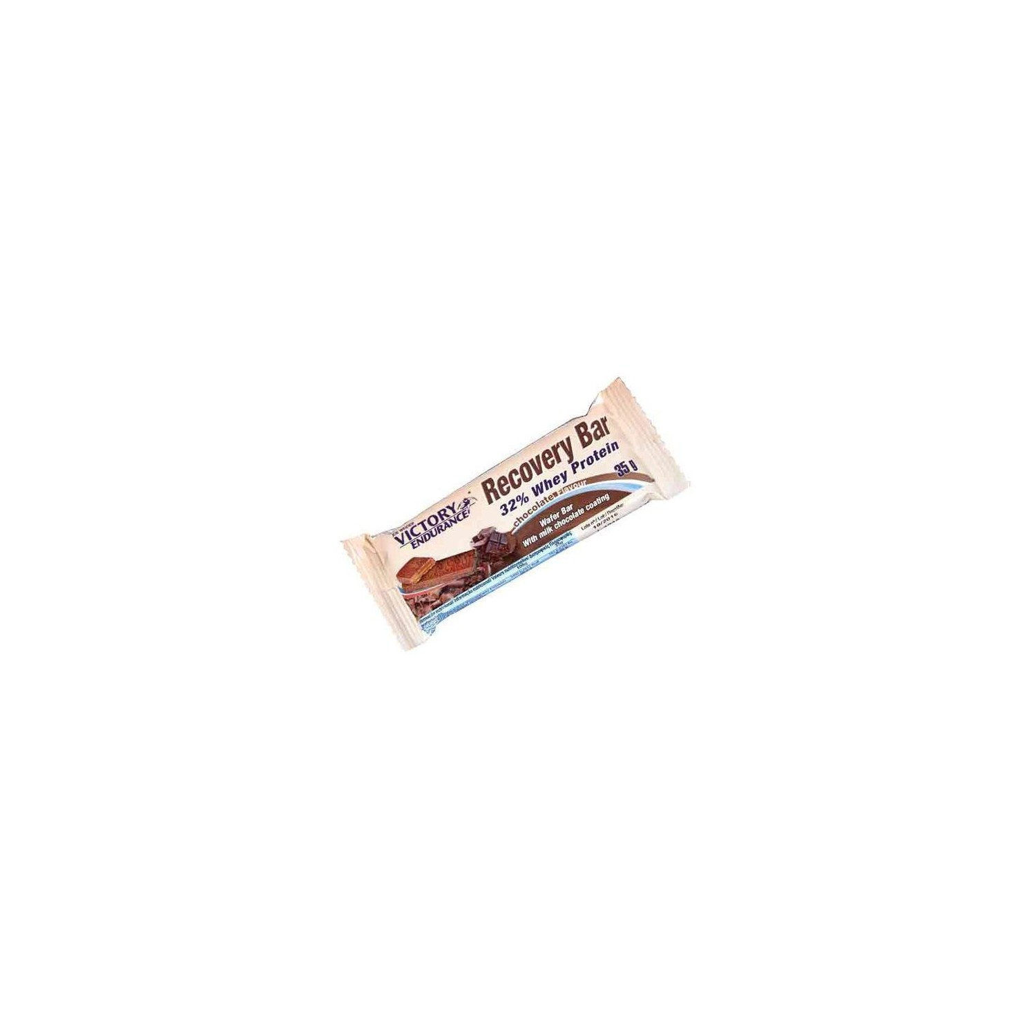 ... > Nutrición running > VICTORY E. RECOVERY BAR PROT. CHOCOLATE 35GR