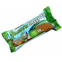 VICTORY E. NATURE'S ENERGY BAR APPLE 40G