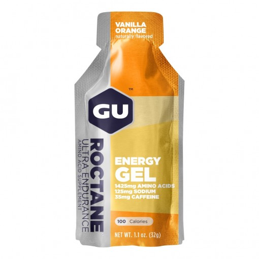 GU ENERGY GEL ROCTANE VANILLA ORANGE