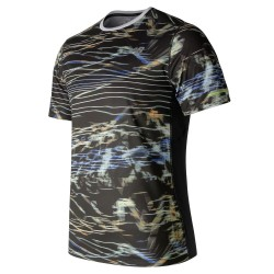 Camiseta New Balance M/C Ice Print MT71224