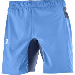 Salomon Pantalon fast Wing TW Short Blue L3976500