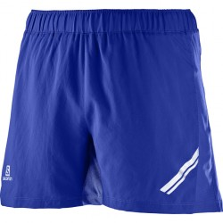 SALOMON PANTALON AGILE SHORT M BLUE L39387100