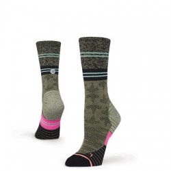 Calcetines Stance Elipse Crew Wool Green