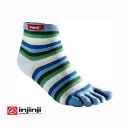 Calcetines Injinji Rainbow Mini Azul