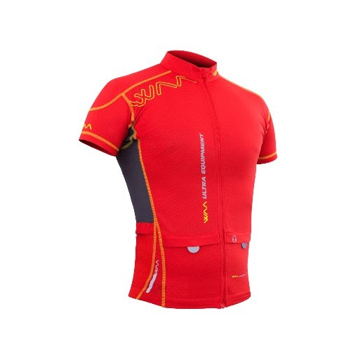 WAA Camiseta Ultra Carrier M/C Rojo 2017
