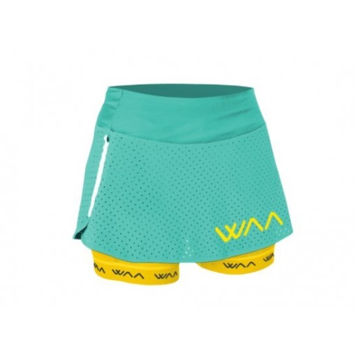 WAA Falda Ultra Skirt 2IN1 W Mint 2017