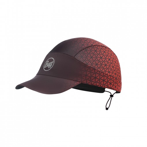 BUFF Gorra Pack Run Equilateral Red
