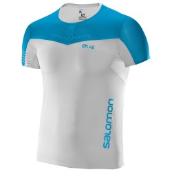Camiseta Salomon S-LAB Sense Tee White/Blue