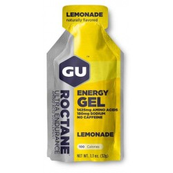 GU ENERGY GEL ROCTANE Lemonade
