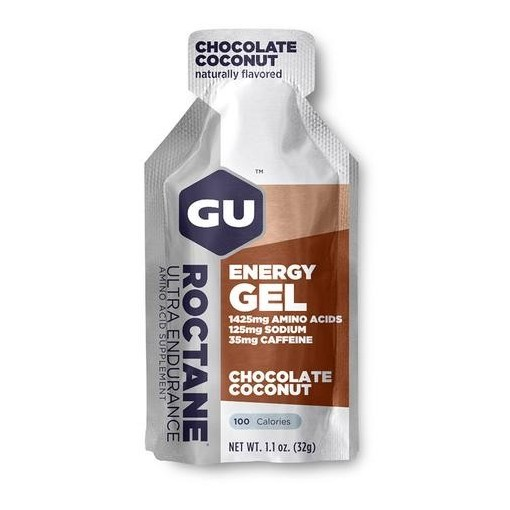 GU Energy Gel Roctane Chocolate/Coconut