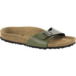 Birkenstock Madrid BS Pull Up Olive
