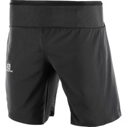 Salomon Trail Runner Twinskin Short M Black