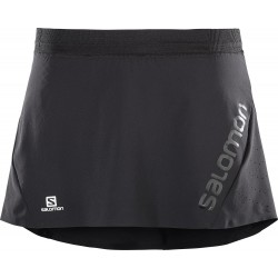 Falda Salomon Lightning Pro Skort W Black