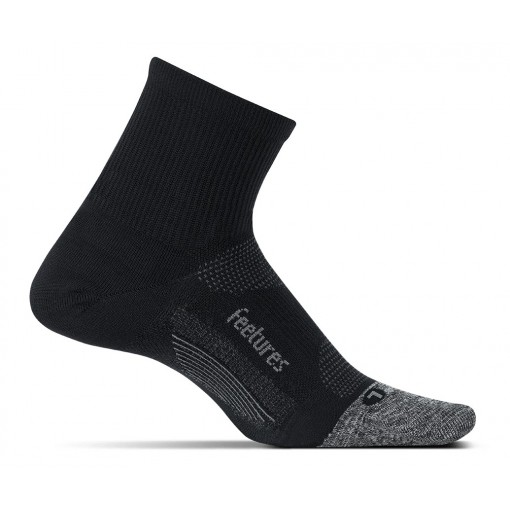 Feetures Elite Ultralight Quarter Black
