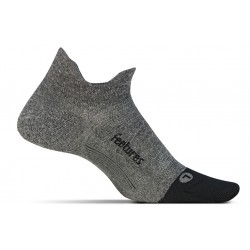 Feetures Elite Light Cushion No Show Tab Grey