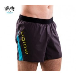 Uglow pantalon corto Short Race 5 Gris/Azul