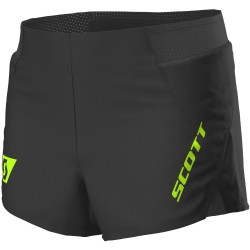 Scott Pantalon Corto Split RC Run Black/Yellow