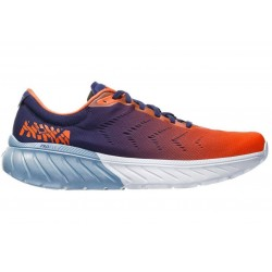 Hoka One One Mach 2 Patriot Blue / Nasturtium