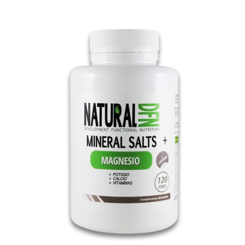Natural DFN Mineral Salts + 120caps con cafeina