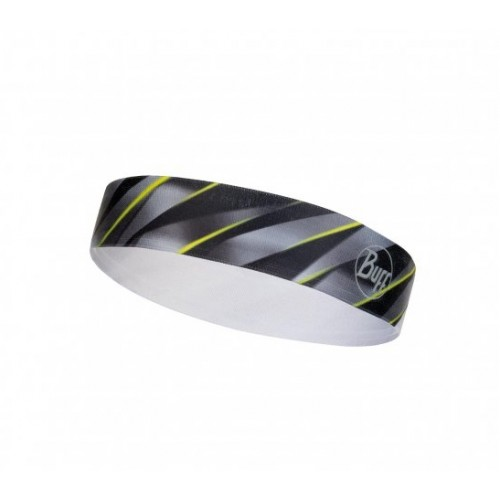 BUFF Wide Hairband R-Focus Grey