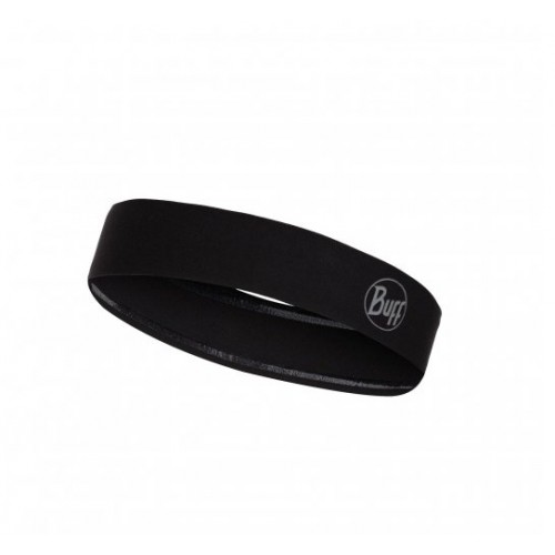 BUFF Wide Hairband R-solid Black