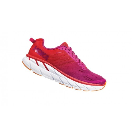 Hoka One One Clifton 6 W Poppy Red / Cactus Flower