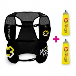 Arch Max Mochila HV-4.5 Black 4.5l. + 2 Soft 500ml.