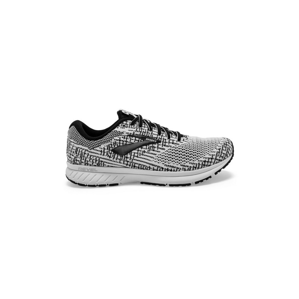 Brooks Revel 3 W White/Black