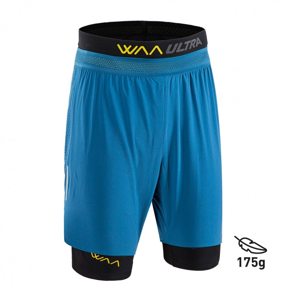 Pantalon Waa Ultra Short 3IN1 2.0 Midnight Blue