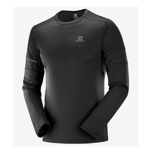 Salomon Camiseta m/l Agile Tee M Black