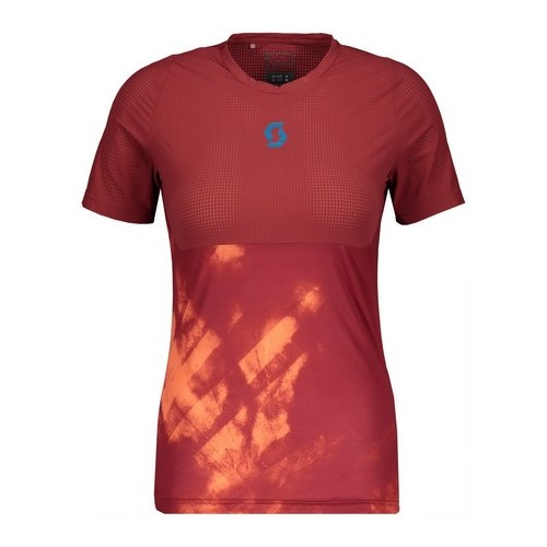 Scott Camiseta Kinabalu Run m/c W Red