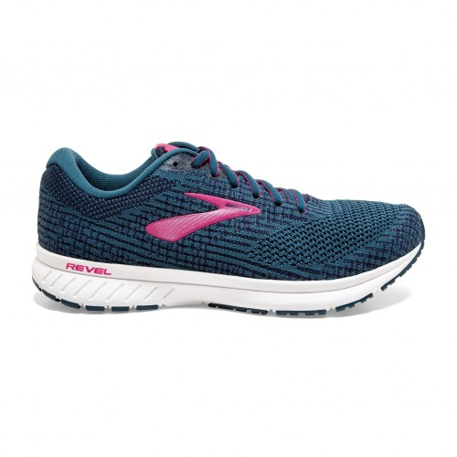 Brooks Revel 3 W Blue / Beetroot