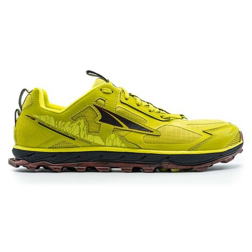 Altra Lone Peak 4.5 Lime/ Red