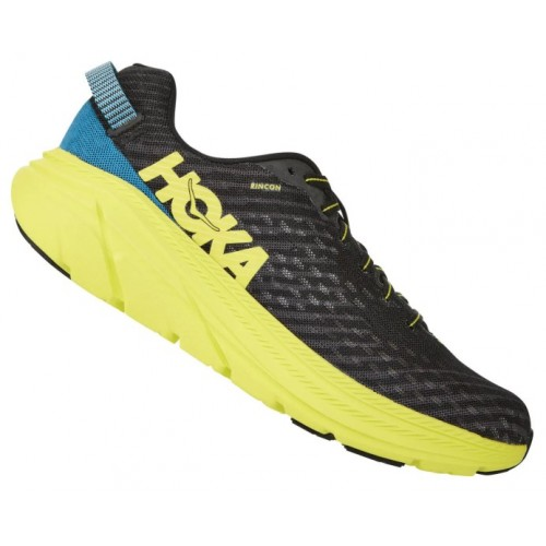 Hoka One One Rincon Black/Citrus