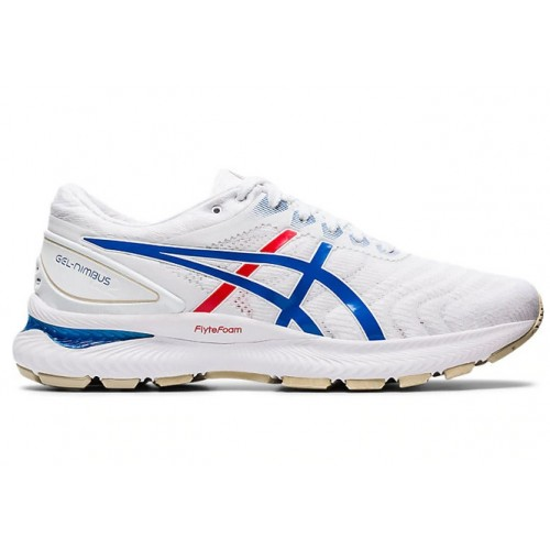 Asics Gel Nimbus 22 White / Electric