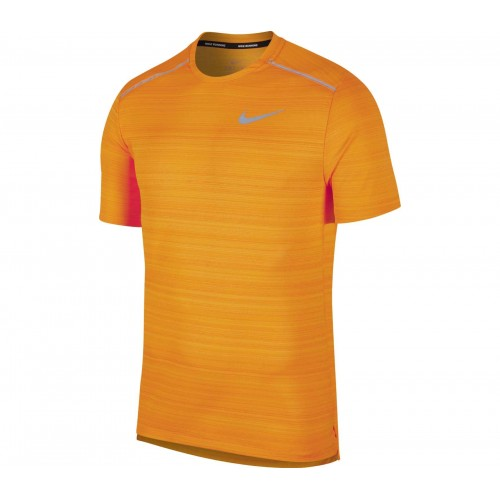 Nike Camiseta m/c Dri-Fit Miler Orange
