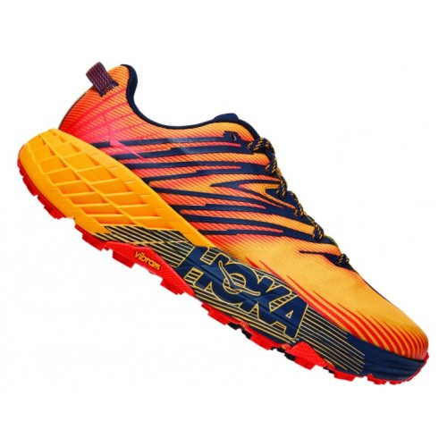 Hoka One One Speedgoat 4 Gold Fusion