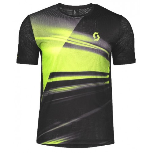 Scott camiseta m/c MS RC Run Black/Yellow